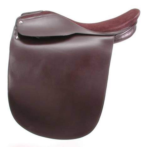 EquiRoyal Liberty Lane Fox Suede Seat Show Saddle
