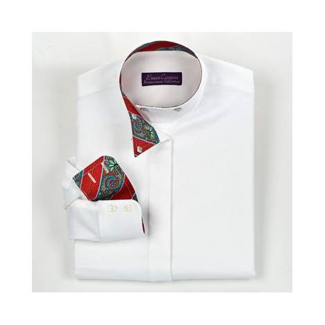 Essex Classics Girls Bellingham Wrap Collar Show Shirt