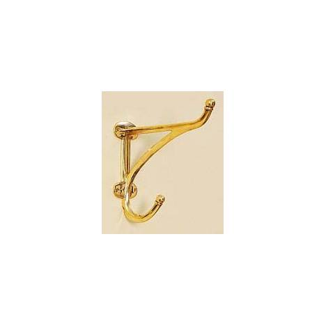 Horse Fare Brass Harness Hook - Large