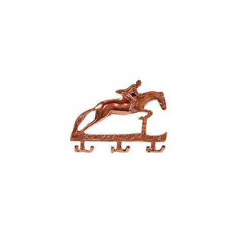 Horse Fare Copper Jumper Key Rack