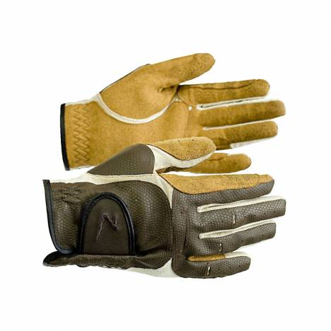 HorZe Elisabeth Synthetic Leather Gloves 3-Co