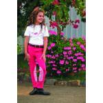 TuffRider Kids Whimsical Horse Embroidered Pullon Jodhpurs