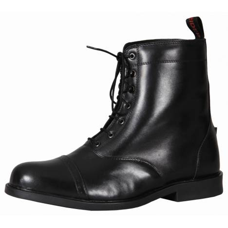 TuffRider Mens Baroque Lace Up Laced Paddock Boots