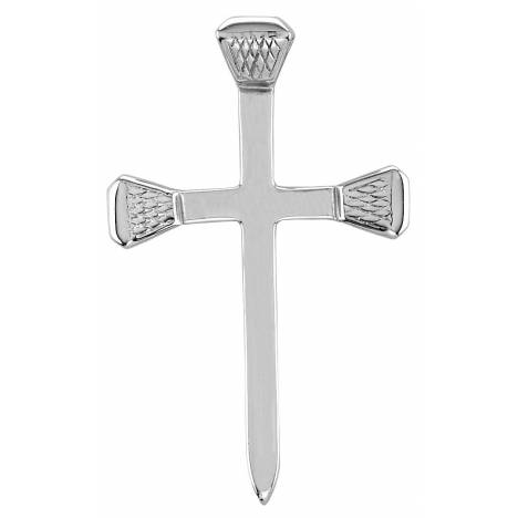 Kelly Herd .925 Sterling Silver Nail Cross Pendant