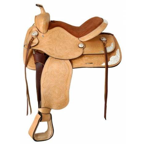 King Series Show King II Saddle with Silver