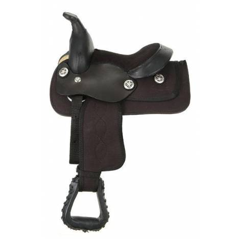 King Series Synthetic Western Saddle