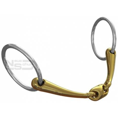 Neue Schule Tranz Angled Lozenge Loose Ring Bradoon - 14mm