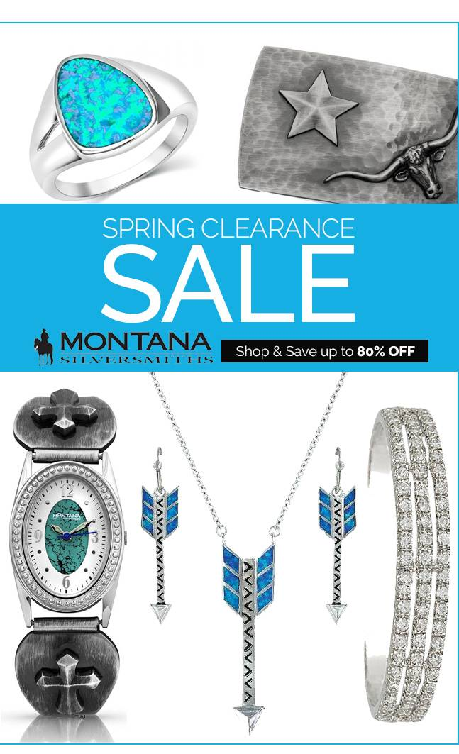 Montana Silversmith Pre-Spring Clearance Up to 79% OFF