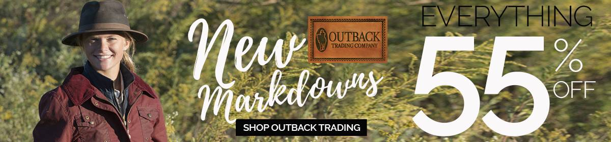 Outback Trading Sale