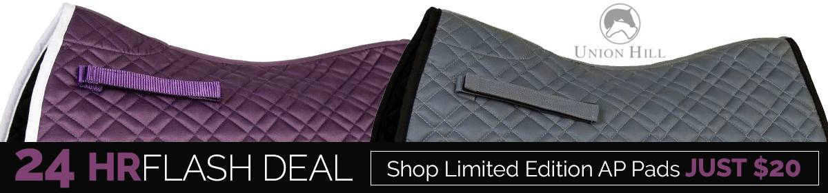 24-Hour Saddle Pad Flash Deal