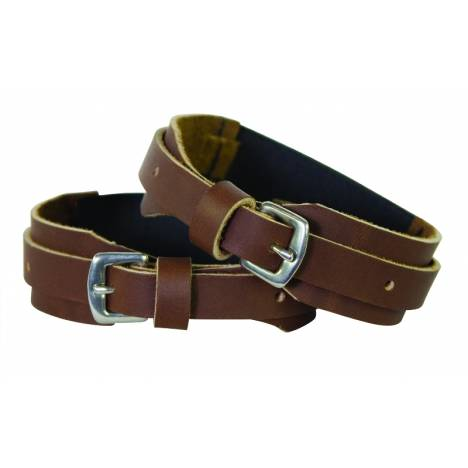 Perri's Leather hook & loop fastener Garter Straps