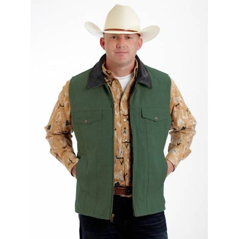 Colorado Saddlery Conceal Carry Vest - Sage Green