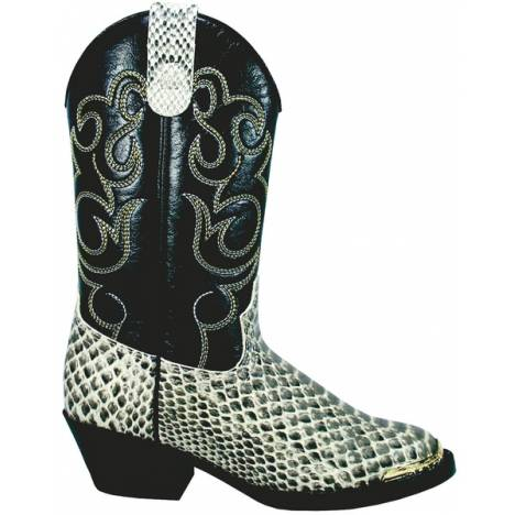 Smoky Mountain Kids Laramie Python Print Western Boot