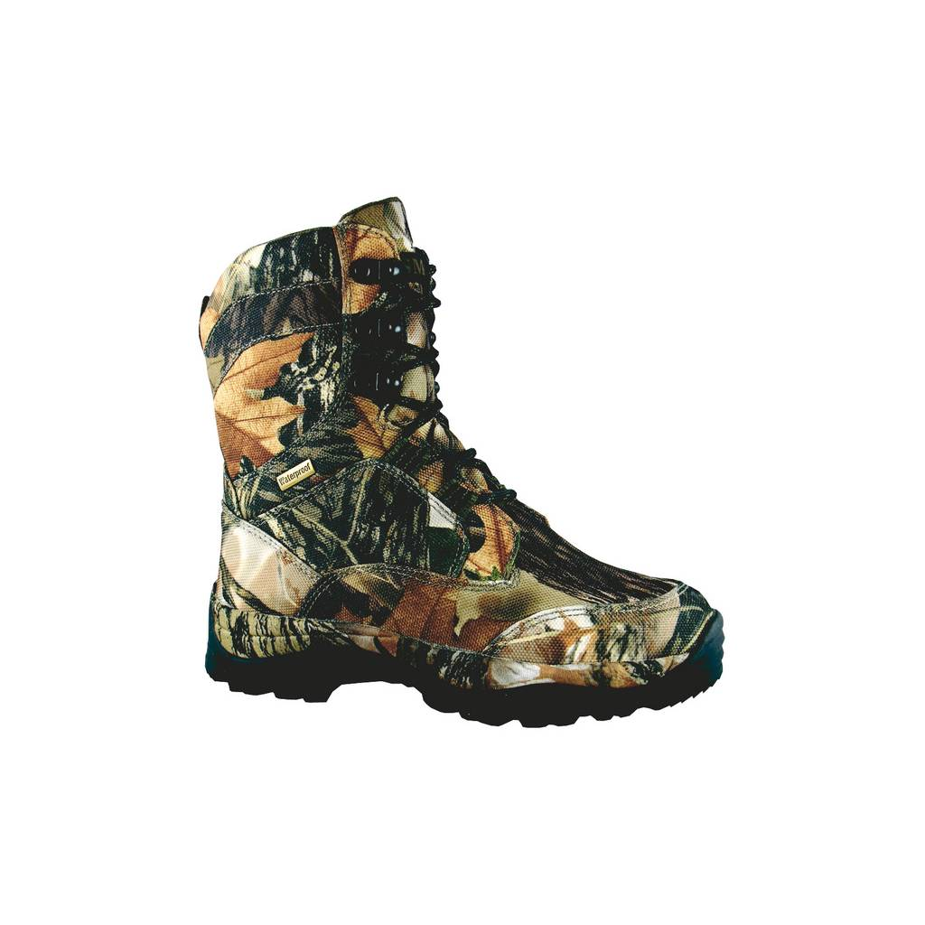 Smoky Mountain Kids Camoflauge Waterproof Lace-Up Boot