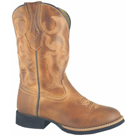 Smoky Mountain Kids Showdown Leather Western Boot