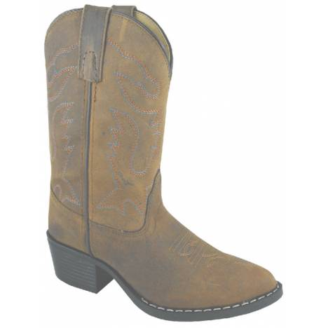 Smoky Mountain Youth Dakota J-Toe Western Boot