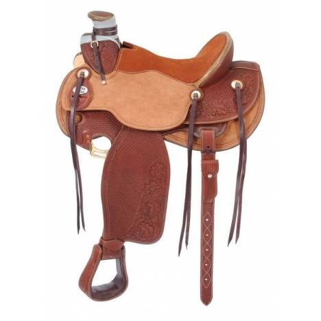 Silver Royal Wade Padded Working Saddle
