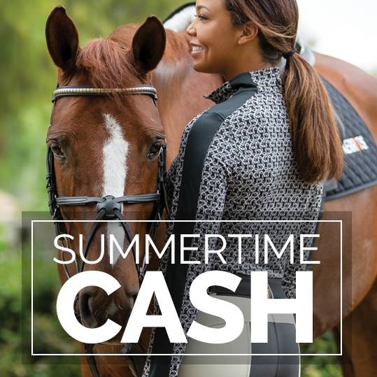 Summertime Cash is Here!<br>Up to $30 OFF+ FREE Shipping