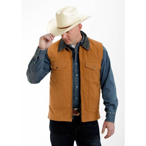 Colorado Saddlery Conceal Carry Vest - Tan