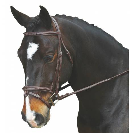 Collegiate Comfort Crown Raised Padded Fancy Stitched With Removable Flash Bridle