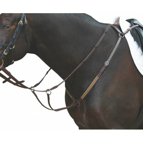 Collegiate Elastic Breastplate With Removable Running Attach