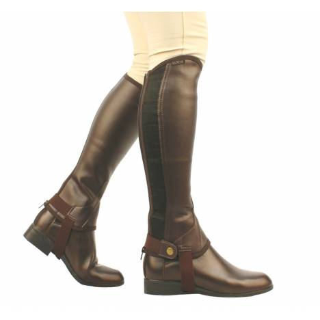Saxon Kids Equileather Half Chaps