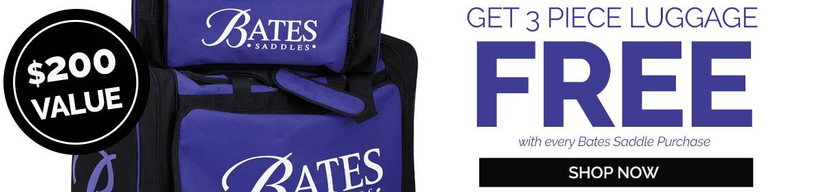 FREE Gifts with Every Bates Saddle