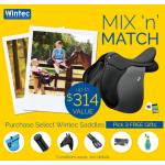 Wintec Mix 'N Match Voucher - Pick 3 FREE Products with any Wintec Saddle Purchase